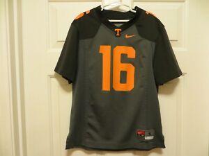 YOUTH SMALL University of TENNESSEE Vols NIKE Football #16 Jersey Smokey Gray
