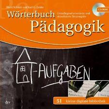 Diccionario Pädagogik Schaub / Zenke Cd-Rom Pequeño Digital Biblioteca Nr.51