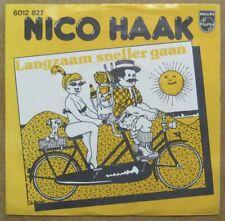 Pochette 2 roues 45 tours Nico Haak 1977