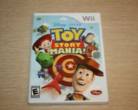 Toy Story Mania (Nintendo Wii, 2009) TESTED WORKS Disney Pixar