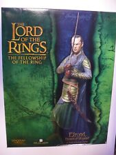 Lord of the Rings 'Elrond Herald of Gil-Galad' Sideshow Weta Statue 1/6 scale
