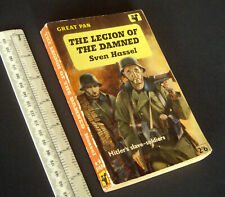 * Sven Hassel - Legion of the Damned Hitler's Slave Soldiers Pan PB 1st Ed 1959