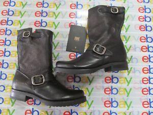 Frye Veronica Short Leather Boot Women's color Black size US 7.5