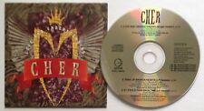 Cher  Love And Understanding  1990 UK 3 Track CD