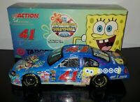 2004 Casey Mears SpongeBob SquarePants Movie SIGNED AUTOGRAPHED NASCAR 1/24 RARE