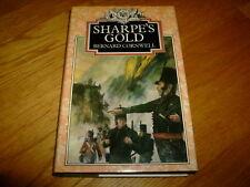 BERNARD CORNWELL-SHARPE'S GOLD-SIGNED-1ST-HB-VG/NF-1981-2ND BOOK-COLLINS-V RARE