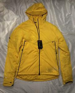 Nike Shield Run Division Running Jacket Yellow Mens Size Medium CU7889-743