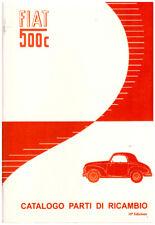 FIAT topolino  CATALOGO PARTI DI RICAMBIO  -500C ed.1951 -