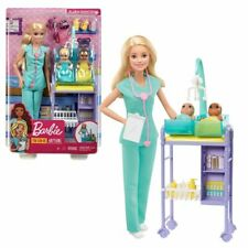 Kinderärztin blond | Barbie | Puppe Spielset & Accessoires | Mattel GKH23