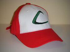 Pokemon GO Trainer Ash Ketchum Cosplay Costume Baseball Hat Cap US SELLER