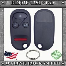 New Replacement Remote Shell Case Keyless Entry Fob For Honda Acura Kit Case