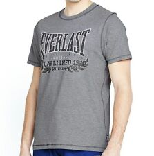 Everlast L Mens SS Grey Marl T-Shirt Bnwt New Limited Edition Top Boxing xl