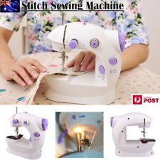 Electric Portable Mini Desktop Sewing Machine Handheld Kit Home Household NEW