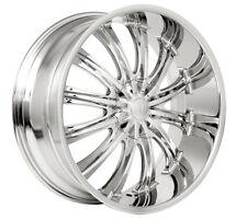 "22""   22x9.5 Borghini wheels style B15n  Chrome finish 10 hole 5x127 / 5x135"