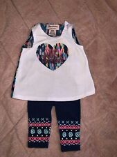 Juicy Couture Baby Girl Outfit Set 0-3M