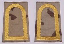 dienstgradabzeichen rangschlaufen, BORDADO Oficila wüste-gold d7207