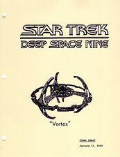 Star Trek Script - Deep Space Nine - Vortex - 1992 -Final Draft