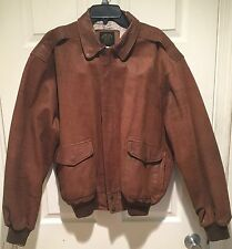 Type A-2 Leather Flight Jacket Bronco Mfg.Co
