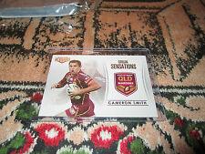 2013 NRL ELITE ORIGIN SENSATIONS CASE CARD QLD MAROONS CAMERON SMITH OS2