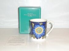 Royal Copenhagen The Country Flower Collection Blue Daisy Henkelbecher 1991
