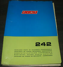 Spare Part Catalogue Body Fiat 242 SPARE PARTS CATALOG Stand 1975