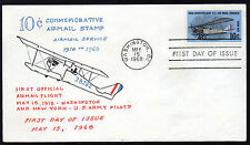 C74  --   Anniversary of Air Mail Service -- First Day cover, Virgil Crow cachet