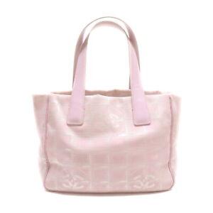 Chanel Tote Bag Mini Tote Bag Pinks Nylon 2204696