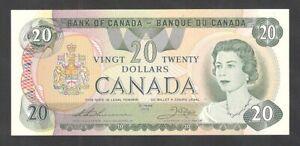 1979 $20.00 BC-54c CHOICE UNC ** Multicoloured BEAUTY Canada QEII Twenty Dollars