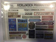VERLINDEN 1/35 FRENCH COMMERCIAL SIGN WWII 35008