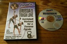From Russia With Tough Love: Pavel's Kettlebell Workout for a Femme Fatale (DVD)