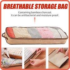 Quilt Storage Bag Clothes Sweater Closet Blanket Foldable Non-woven Box Organize