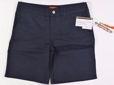 "Dickies Girl 8"" BULL Girls Junior 4 Pocket Slim fit Shorts Size 7 Navy Blue NEW"