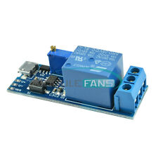 5-30V Micro USB Power Trigger Delay Relay Timer Control Switch Module M