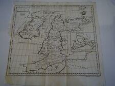 """Antique Map """"Insulae Britannicae as mentem Ptolemaei delineatae"""""""