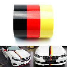 Three Color German FLAG Stripe Hood Decal for BMW Motorsport M3 M5 M6 X5 E30