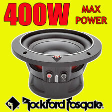 """Rockford Fosgate 8 """"de 400 W Voiture Audio Punch Bass sub caisson de basses 20cm 2ohm"""