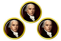 President James Madison Marqueurs de Balles de Golf