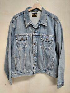 Wrangler giubbino jeans tg XL vintage 90 jeans JACKET Wrangler vintage