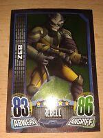 Force Attax Star Wars Rebels Spiegelfolienkarte Nr.143 ZEB Sammelkarte