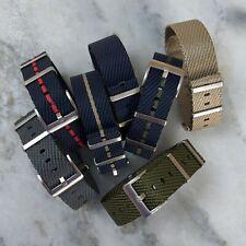 Prima de nylon francés estilo Tudor Inglés la OTAN Correa De Reloj 20mm/22mm