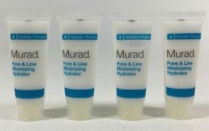Murad Pore & Line Minimizing Hydrator Hydrate   Protect Size 0.33 oz (4 tubs)
