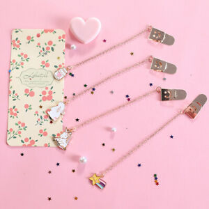 Cartoon Cat Claw Stationery School Office Supply Page Mark Pendant Bookmark