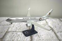 Hogan Alaska Airlines Boeing 737-800 Starliner Desk Model w/ Stand 1:200 Scale