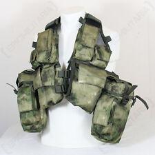 12 Pocket Mil-Tacs FG Camo Tactical Vest - Assault Combat Airsoft Paintball New