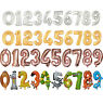 """16"""" AIR FILL NUMBER 0 1 2 3 4 5 6 7 8 9 BALLOON BIRTHDAY PARTY SUPPLIES -1PCE"""