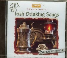 Irish Drinking Songs - Traditional - CD - NEW - 24 CLASSIC SONGS
