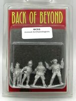 Copplestone BC01 Armed Archaeologists (Back of Beyond) Adventurers Explorers
