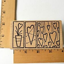 Magenta Rubber Stamps - Hearts 37156K - NEW