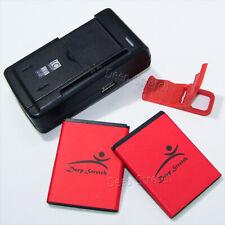 2520mAh Battery+Universal Charger+Folding Bracket for Virgin Mobile ZTE Awe N800