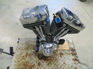 EB579 2004 04 HARLEY DAVIDSON FXDLI ENGINE MOTOR 88CI 32K MILES